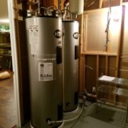 2 water heaters
